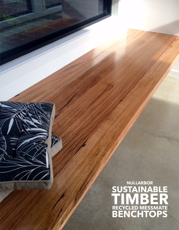 Timber Benchtops Recycled Laminated Timber Bench Tops