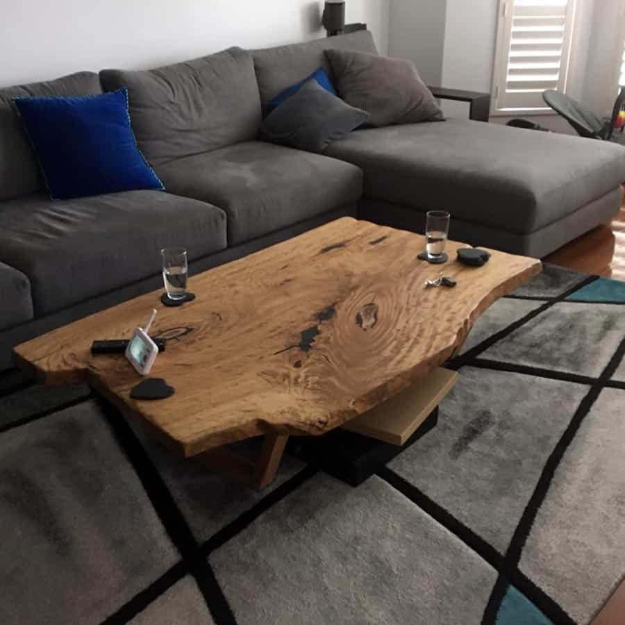 Live Edge Coffee Table Melbourne: Timber Tables I Benchtops I Recycled Timber I Melbourne I